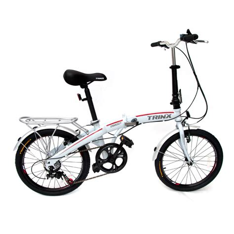 Folding Bike by Trinx Folding Bike 20 Quot Shimano 7 Speed Foldable Bicycle Ebay