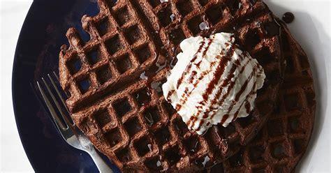 chocolate malt waffles recipe king arthur flour