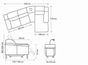canape d39angle avec liseuse et relax electrique glicy With tapis peau de vache avec canape angle cuir relax electrique