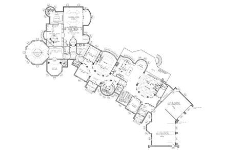 Alpine Mega Mansion Floor Plan by Mansions More Partial Floor Plans I Designed