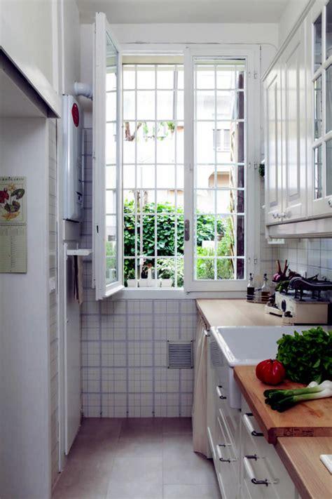 narrow kitchen interior design ideas ofdesign