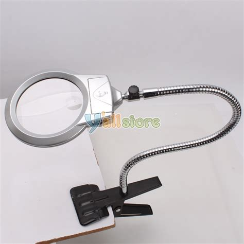 desk magnifying glass with light lighted table top desk magnifier magnifying glass with