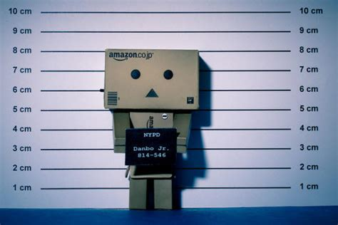 adorable photographs  danbo cardboard robot hongkiat