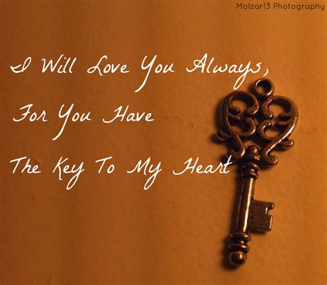 Your The Key To My Heart Quotes