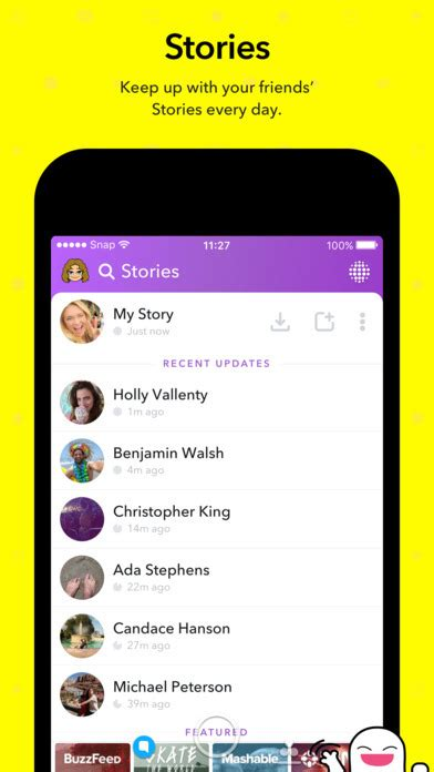snapchat launches today widget  ios iclarified
