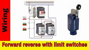 Forward Reverse Motor Control Wiring With Limit Switches