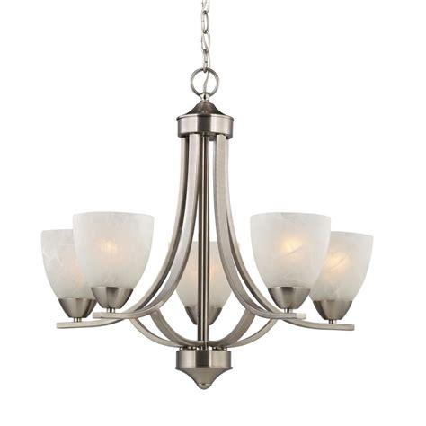 design classics lighting satin nickel chandelier with alabaster glass shades 222
