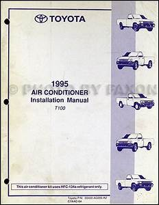 1995 Toyota T100 Repair Shop Manual Original 2 Volume Set