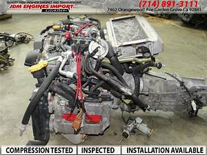 Jdm Ej20 Sti Engine V5 V6 5spd Trans Harness Ecu Rear Diff