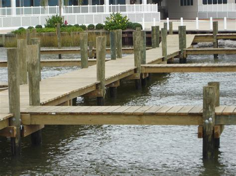 Boat Lift Piling Spacing by Green Building Materials