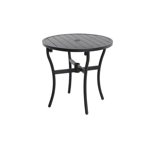 hton bay 28 in patio bistro table fts60734a br