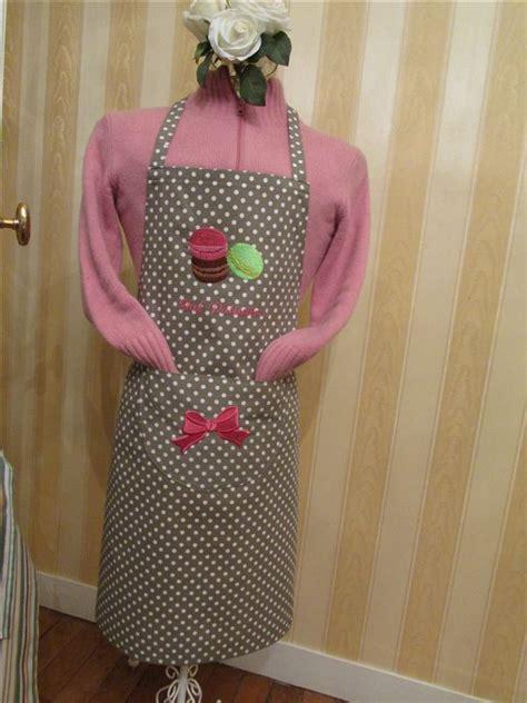 tablier cuisine femme tablier de cuisine brodé fabrication artisanale