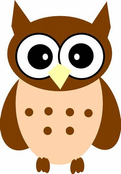 Owl Clipart Brown Clip Cliparts Vector Clker