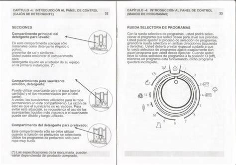191 alguien tiene las instrucciones lavadora home hlf105apw 12 lavadoras todoexpertos