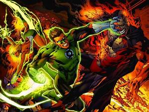 HAL JORDAN & ARISIA vs. CYBORG SUPERMAN | Comics And ...
