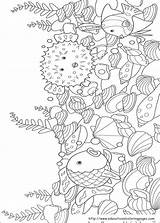 Rainbow Fish Coloring Pages Printable sketch template