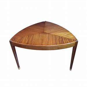 very unusual shaped walnut coffee table With unusual shaped coffee tables