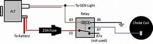 Dodge Electric Choke Wiring Diagram 1986