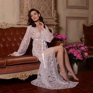 long lace bridal robe f3 bridal lingerie wedding lingerie With corset pour robe de mariage