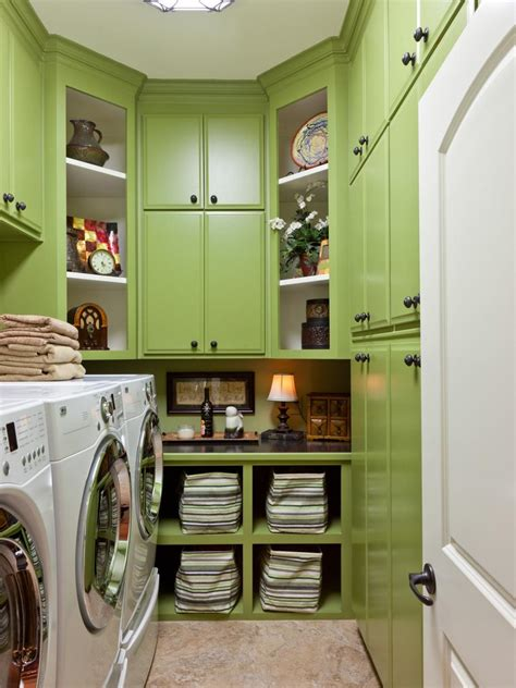 8 tidy laundry rooms that make washday hgtv