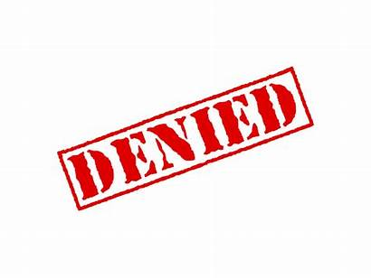 Denied Stamp Transparent Credit Cards Clipart Mortgage