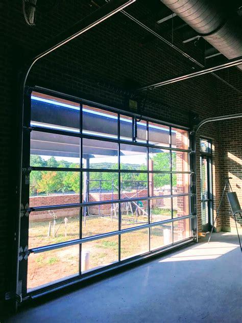 glass garage doors aluminum glass garage overhead sectional roller doors in