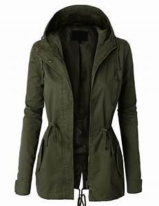 LE3NO Womens Military Anorak Safari Jacket Vest at Amazon Womenu0026#39;s Coats Shop ony $28.00 ...