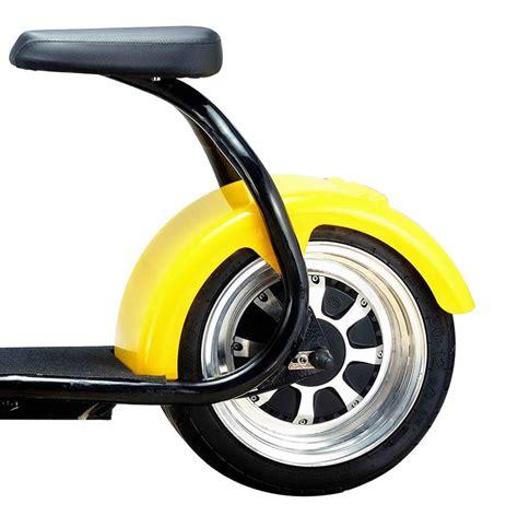 электросамокат с мотором с большими колесами
