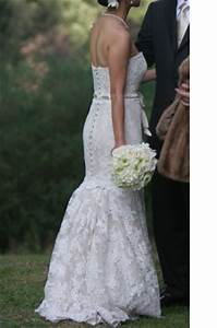 english elegance With how to bustle a lace wedding dress