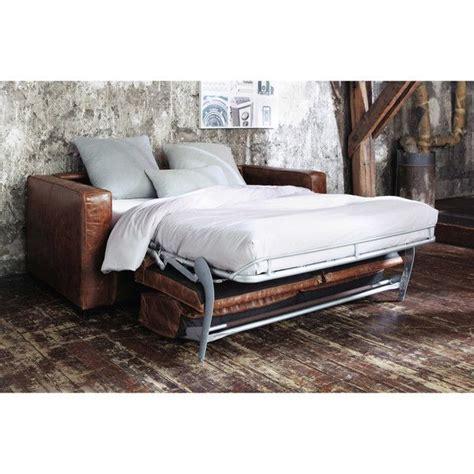 canape cuir de luxe maisons du monde meuble décoration luminaire et canapé