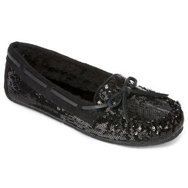 arizona melissa sequin moccasins jcpenney shoes