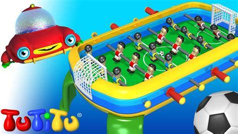 building  foosball tutitu toys youtube