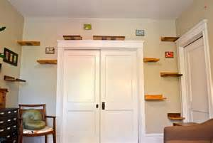 cat stairs for wall interesting cat trees