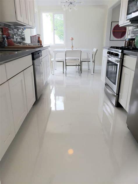white epoxy kitchen epoxy floor designs flooring epoxy