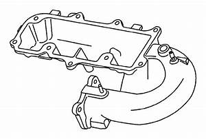Dodge Stratus Connector  Brake Booster Vacuum  On Manifold