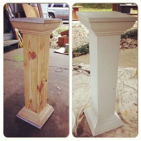 Built These Wedding Columnswhen You Cant Find Just Want
