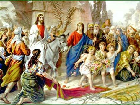 palm sunday  calendar date