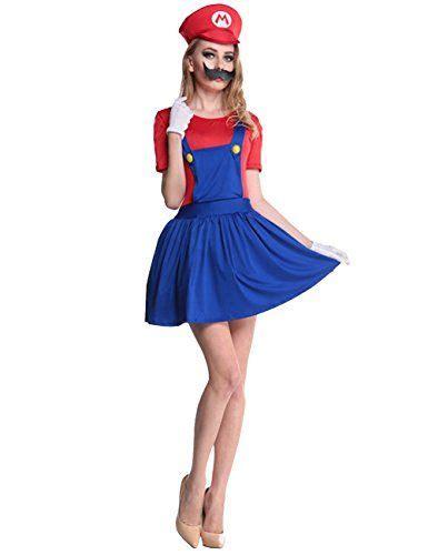 mario und luigi kostüm selber machen damen mario kost 252 m zu karneval fasching
