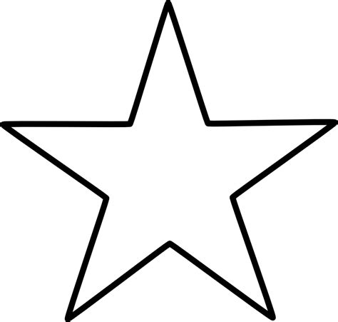 large star template large cliparts co