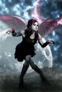 Gothic Dark Fallen Angel Goth