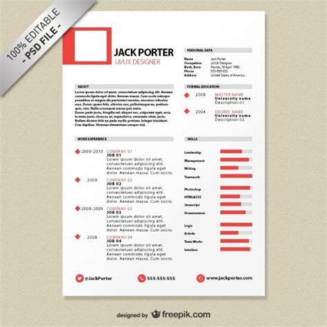 free resume templates for word 2016 gratis creative resume template download free psd file free download