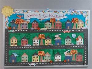 Fall bulletin board with transportation unit added. | SO ...