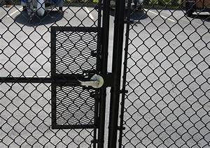 Chain Link Fence Gate Latch Image — Umpquavalleyquilters
