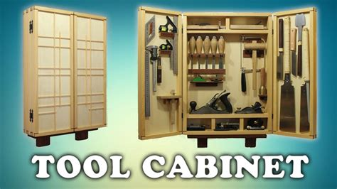building  woodworking tool cabinet youtube