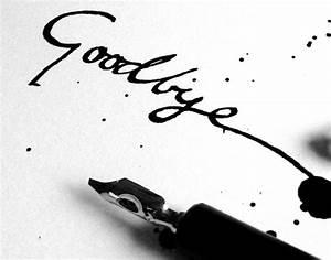 Two Ways To Say Goodbye! | Circlekj's Blog