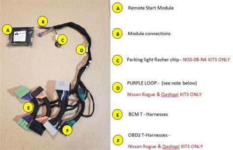 nissan rogue plug play remote start smart key