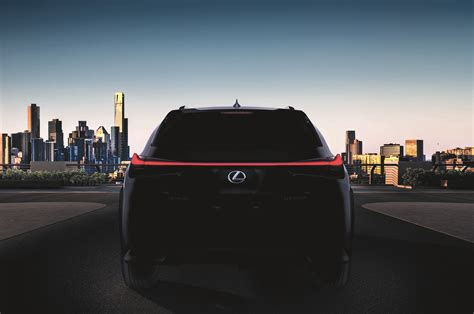 lexus ux crossover will go to production the lexus ux crossover revealed with aggressive design and new
