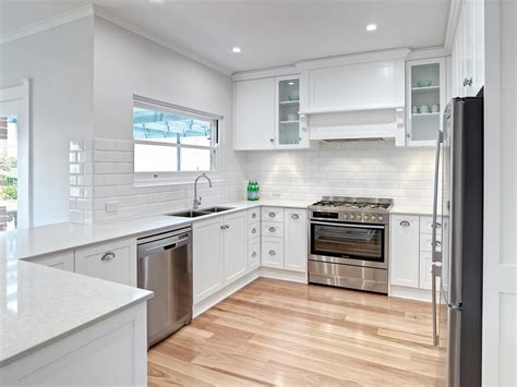 white kitchen transformation completehome