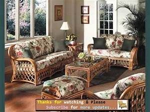 set of wicker furniture in living room romance youtube With bamboo furniture in living room