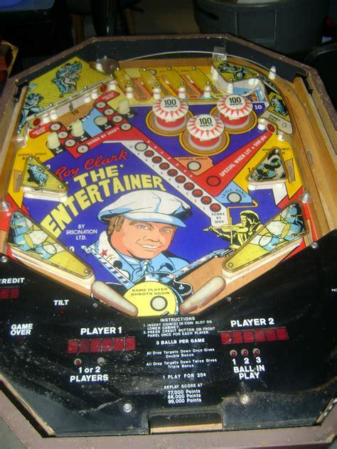 roy clark pinball machine